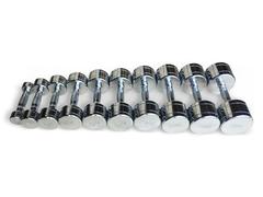 Набор хромированных гантелей Smith Strength DB124 (пары 1-10 кг / с шагом 1 кг.)